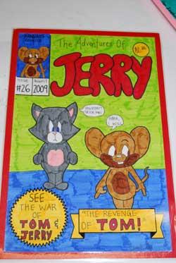 More Students Comic Book Artwork
