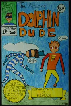 Students Comic Book Art Example