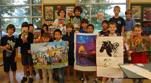 Summer Art Camp 2009