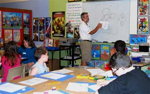 Summer Art Camp Drawing Class