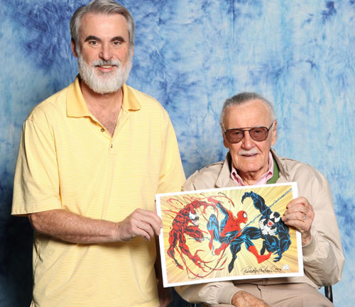 Randy and Stan Lee